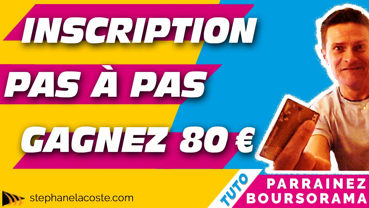 Boursorama Banque Parrainage : Une inscription pas à pas pour gagner 80 € et Visez en plus 1 500 €/Mois avec cette Formation Offerte