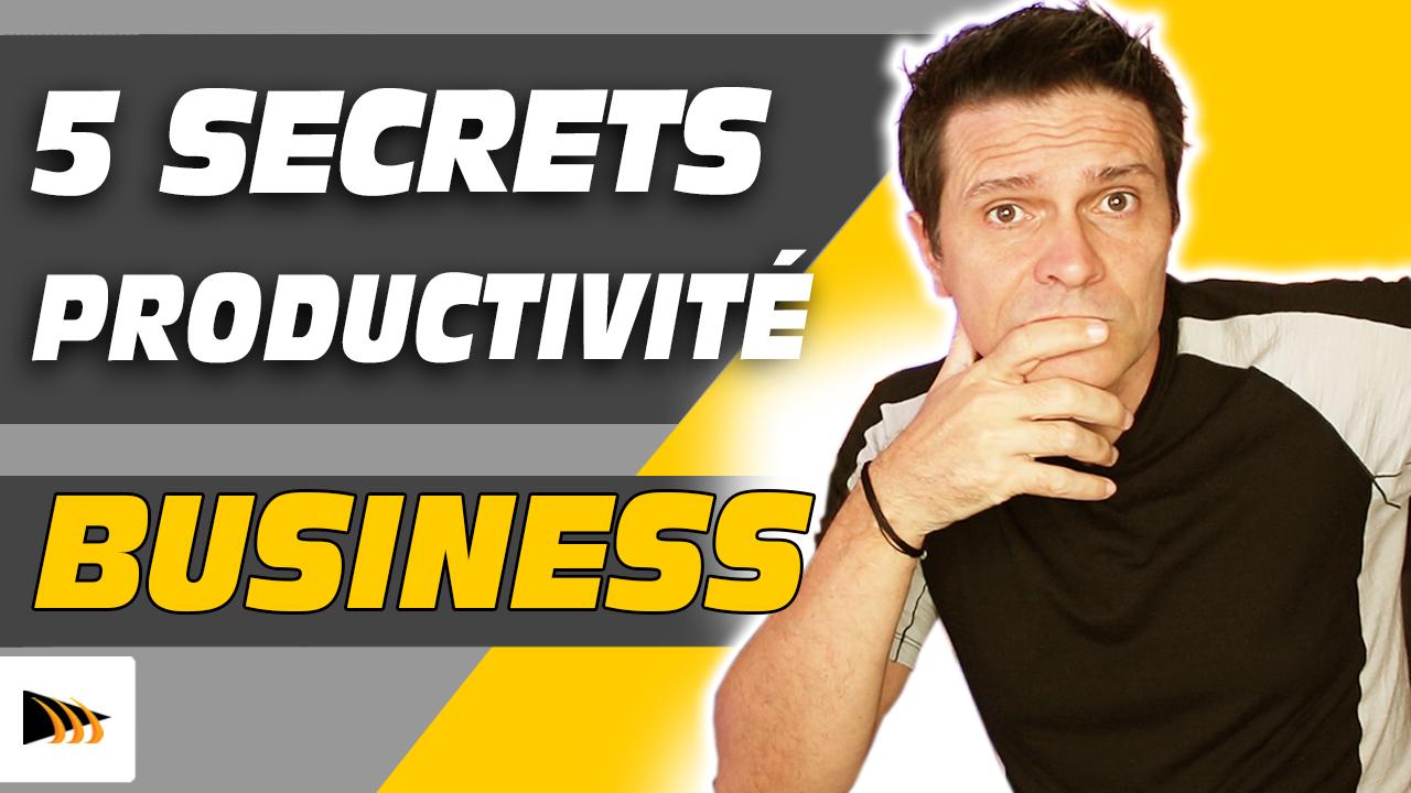 Comment être plus productif quand on lance un business internet. Etre productif au travail