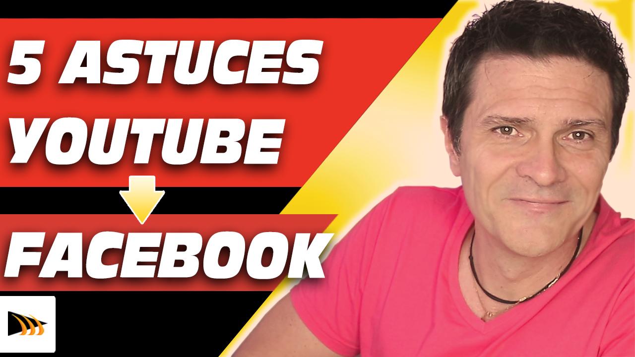 Comment envoyer une video Youtube sur Facebook avec ces 5 astuces pour partager de la meilleure manière.