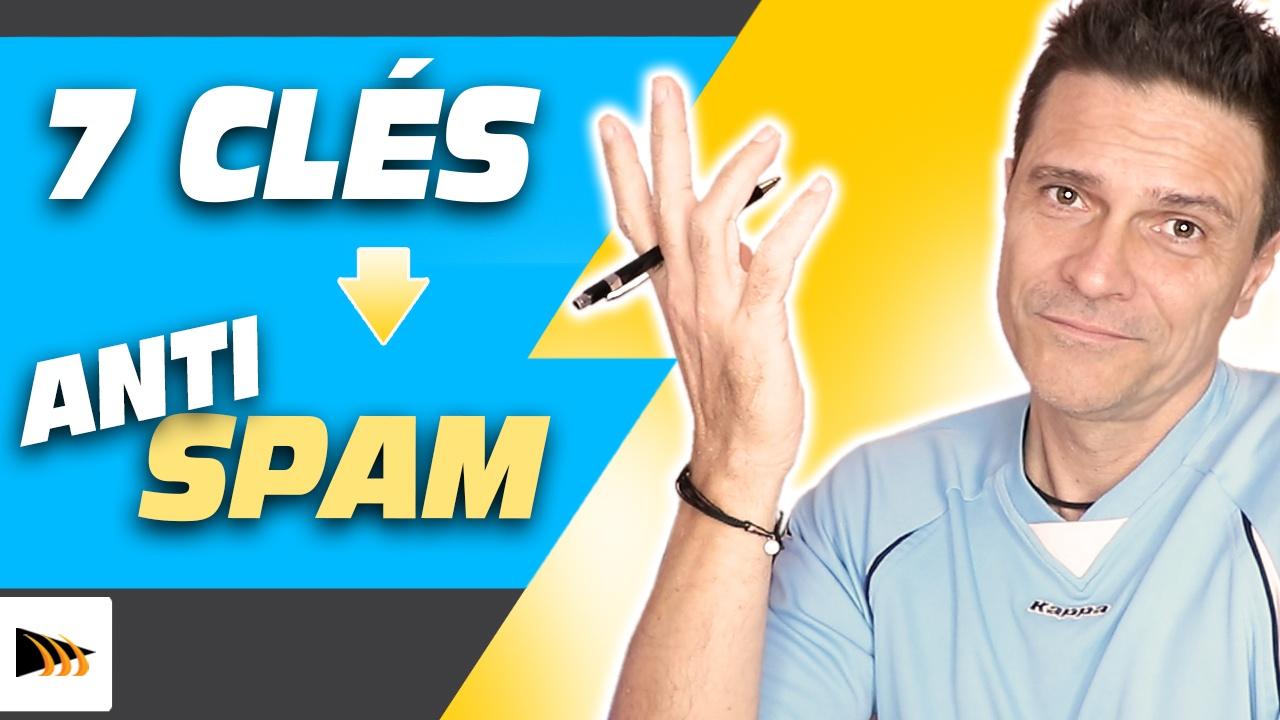 Comment éviter d'avoir un mail considéré comme spam