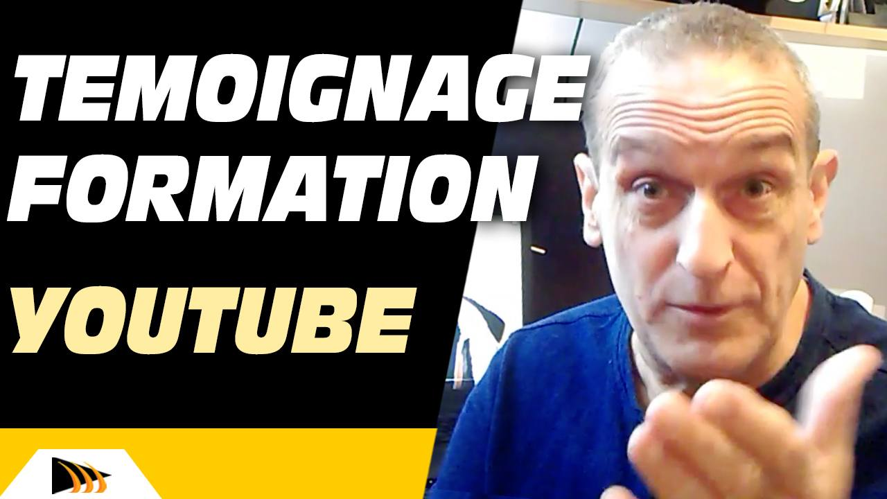 Témoignage formation YouTube Turbo