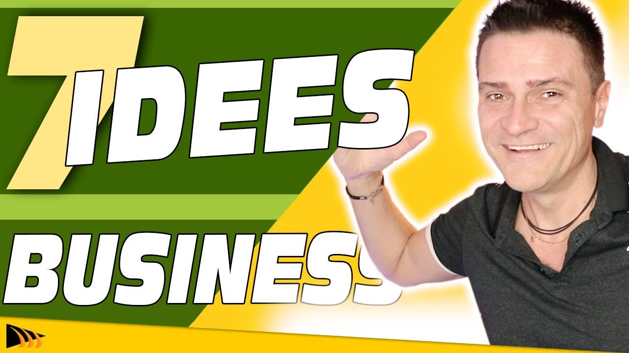 7 Idées de Business en ligne Rentable pour gagner de l'argent sur internet
