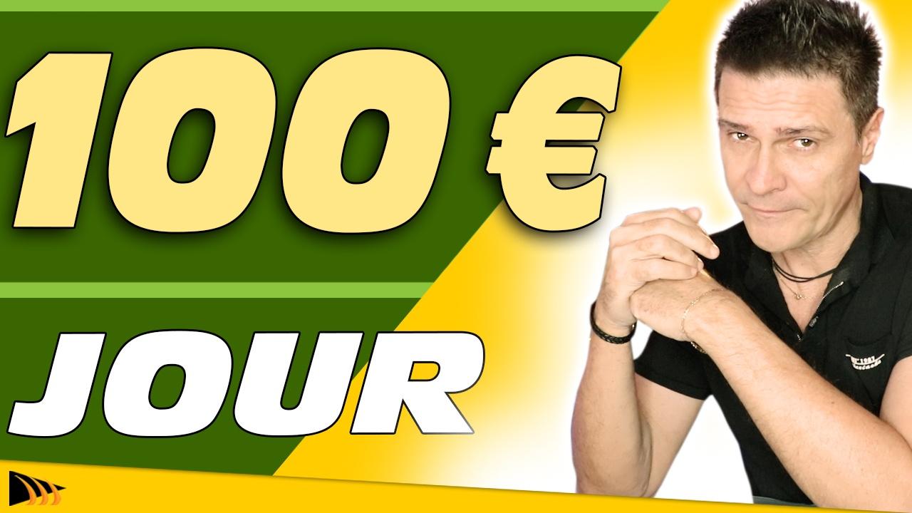 Comment gagner 100 Euros par jour. 5 Clés pour gagner de l'argent sur internet