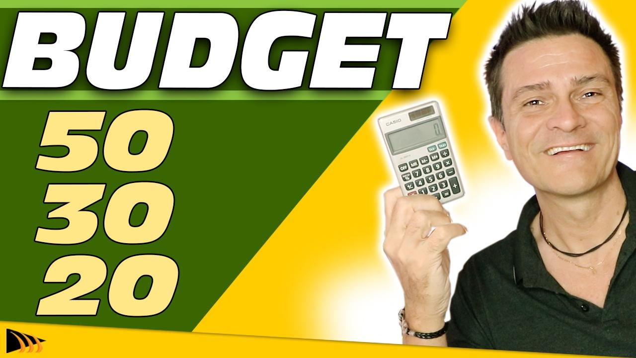 Comment Gérer son Budget Facilement (et rapidement) avec le 50,30,20