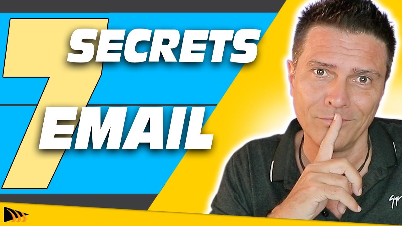 Comment Vendre par Email - 7 Secrets Email Marketing pour gagner de l'argent sur internet