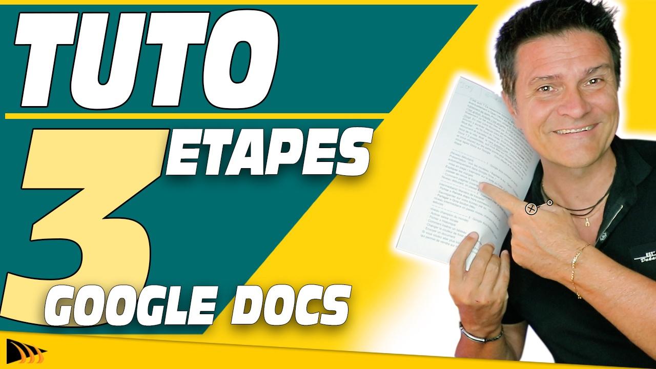 Comment utiliser Google Docs (Tuto comment ça marche)